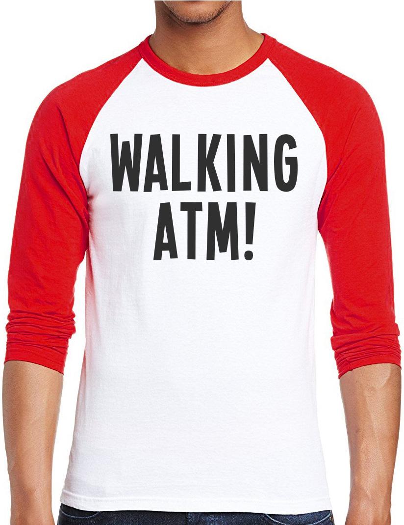 Walking-ATM-PAPA-039-REGALO-Thailandia-PATTAYA-Cash-Uomini-Baseball-Top